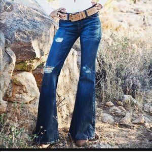 Reposh a Vigoss Jagger Flare Dark wash jeans
